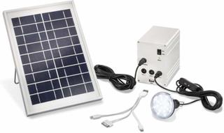 Solcelle strømsæt Multipower 5 W
