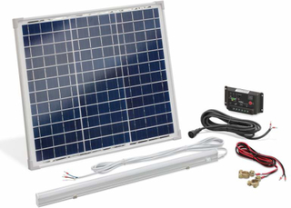 Solcelle strømsæt Ø-system 30 W