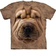 Big Face Shar Pei Puppy t-shirt, Adult 3XL