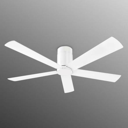 Klar designet loftsventilator Rodas - hvid