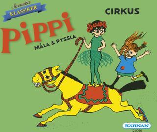 Pippi, minibok, måla & pyssla