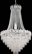 Kristallkrona modern 6lj (Förkromad/blank)
