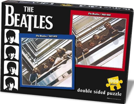 Beatles Red & Blue 1000 Piece - Jigsaw puzzle