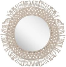 Spegel 53 cm beige GAYA