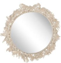 Spegel 48 cm beige DHANPURI