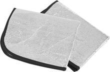CAMPZ Aluminium Seat Cushion 2-pack, silver 2019 Matkatyynyt