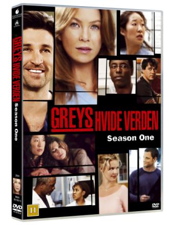 Greys Anatomy/Greys Hvide Verden - saeson 1 - DVD