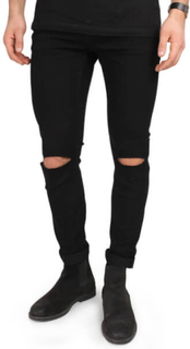 Only & Sons Loom Jeans 6462 Rip Black