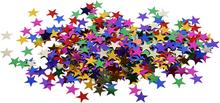 Pailletter, str. 10 mm, stjerner, 10g
