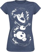 Frozen - Olaf -T-skjorte - blå