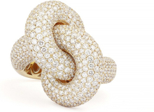 Engelbert Absolutely Fat Knot Ring Guld White Diamonds