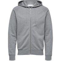 SELECTED Økologisk Bomulds Sweatshirt Mænd Grå - SELECTED