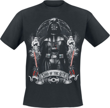 Star Wars - Darth Vader - Lord Of The Sith -T-skjorte - svart
