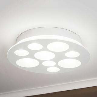 Pernato - en rund, vit LED-taklampa