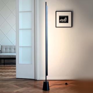Compendium- LED design golvlampa i svart