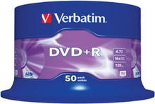 DVD+R 16x 4,7GB spindle, 50 stk.