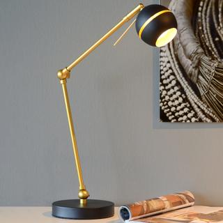 LED-skrivbordslampa Binari i svart