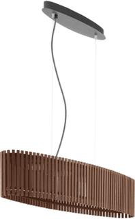 Roverato taklampa LED (Beige/brun)