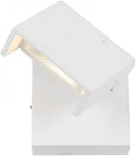 Stelt vägglampa LED (Vit)