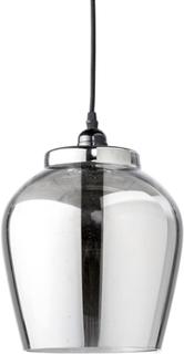 Taklampa grå glas Bloomingville (Förkromad/blank)