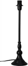 B2312 svart bordsfot (Svart)