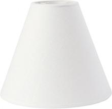 Toppringskärm Lin Offwhite 22cm (Vit)