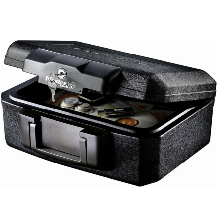 Master Lock L1200 liten sikkerhetsboks med brannvern