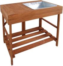 Esschert Design pottebord GT35 i hårdt træ