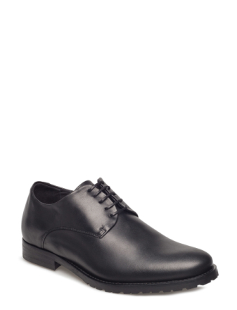 Nano Derby Shoe Shoes Business Laced Shoes Svart ROYAL REPUBLIQ