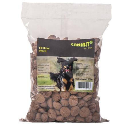 Canibit hundekjeks - hestekjøtt - Økonomipakke: 3 x 600 g