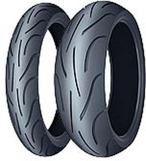Michelin Pilot Power ( 120/70 ZR17 TL (58W) M/C, Framhjul )