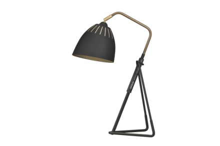 Lean bordlampa (Svart)