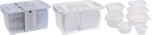 Excellent Houseware Storage Boxes Set With Lid - 27 Pieces