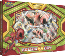Pokemon - TCG Scizor EX Box