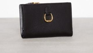 Lauren Ralph Lauren New Compact Wallet Small Plånböcker Svart