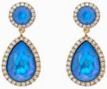 Lily and Rose Miss Carlotta Earrings Blå