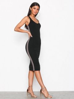 NLY One Side Stripe Dress Fodralklänningar