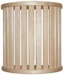 Lampskärm i Al, 15 ribbor väggmodell
