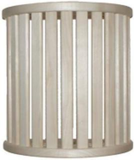 Lampskärm i Asp, 15 ribbor väggmodell