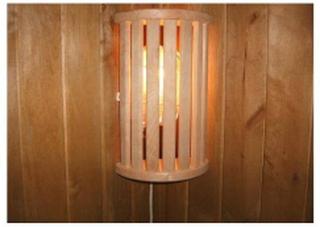 Lampskärm i Asp, 7 ribbor hörnmodell