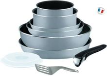 TEFAL INGENIO ESSENTIAL 10-osainen keittiöastiasarja L2149602 16-18-20-22-26cm Kaikki lämmönlähteet paitsi induktio