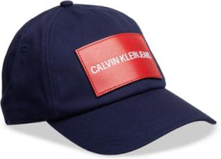 J Calvin Klein Jeans Accessories Headwear Caps Blå Calvin Klein