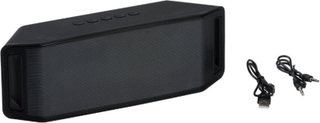 LED Bluetooth Speaker - 28 x 8 x 10 cm