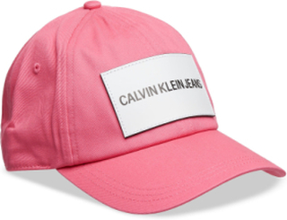 J Calvin Klein Jeans Accessories Headwear Caps Lyserød Calvin Klein