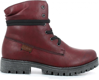 Rieker Red Boots Dame 36-42