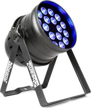 BPP205 LED Par 64 18 x 15W 5-in-1 LEDs med RGBAW-UV