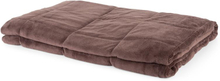 Cosycalm tungt täcke Microplush sandstenspärlor 150 x 200 cm 11 kg brun