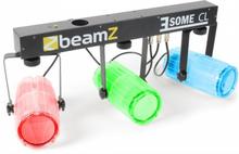 3 Some CL LED-ljuseffekt-set 5 delar T-bar 171-RGBW-LEDs genomskinlig