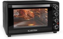 Masterchef 45 mini-ugn 45l 2000W 100-230 °C timer svart