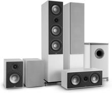 Reference 851 5.1-Soundsystem vit inkl. överdrag i silver